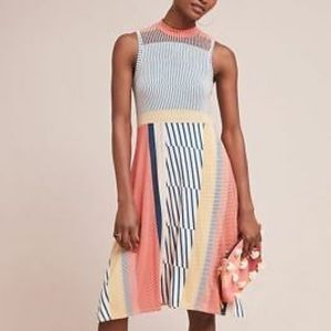 Maeve colorful striped cleary dress